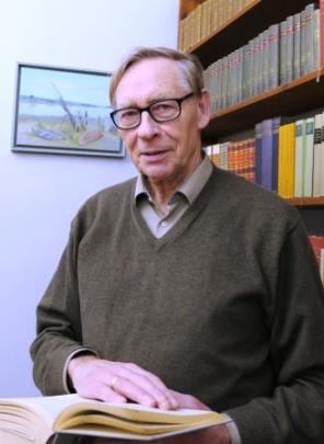 Professor Dr. Gerhard Ackermann  (Foto: T. A. Fischer)